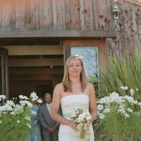 ivory, green, Bridesmaid Bouquets, Rustic Real Weddings, West Coast Real Weddings, Rustic Weddings