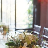 ivory, green, Centerpieces, Rustic Real Weddings, West Coast Real Weddings, Rustic Weddings, Rustic Wedding Flowers & Decor