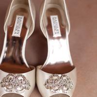 Real Weddings, ivory, West Coast Real Weddings, Classic Real Weddings, Classic Weddings, Bridal shoes, West Coast Weddings, Monochromatic Wedding
