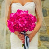 Flowers & Decor, Real Weddings, Wedding Style, pink, Bride Bouquets, Modern Real Weddings, Midwest Real Weddings, Modern Weddings, michigan weddings, michigan real weddings