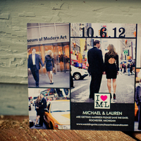 Real Weddings, Save-the-Dates, Modern Real Weddings, Midwest Real Weddings, Modern Weddings