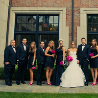 Real Weddings, pink, black, Modern Real Weddings, Midwest Real Weddings, Modern Weddings, michigan weddings, michigan real weddings