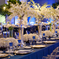 Flowers & Decor, Real Weddings, Wedding Style, white, Centerpieces, Tables & Seating, Fall Weddings, Modern Real Weddings, Southern Real Weddings, Fall Real Weddings, Glam Real Weddings, Glam Weddings, Modern Weddings, Classic Wedding Flowers & Decor, Glam Wedding Flowers & Decor, Modern Wedding Flowers & Decor