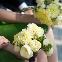 Flowers & Decor, Real Weddings, Wedding Style, white, green, Bridesmaid Bouquets, Northeast Real Weddings, Summer Weddings, Summer Real Weddings
