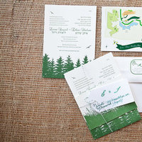 Stationery, Real Weddings, Wedding Style, green, Invitations, Northeast Real Weddings, Summer Weddings, Summer Real Weddings, Wedding invitations