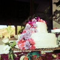 Cakes, Real Weddings, Wedding Style, Beach Wedding Cakes, Floral Wedding Cakes, Wedding Cakes, Summer Weddings, West Coast Real Weddings, Summer Real Weddings