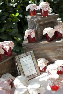Favors & Gifts, Real Weddings, Wedding Style, red, Fall Weddings, Rustic Real Weddings, West Coast Real Weddings, Fall Real Weddings, Rustic Weddings, Guest gifts, Edible Wedding Favors & Gifts, Farm Real Weddings, farm weddings