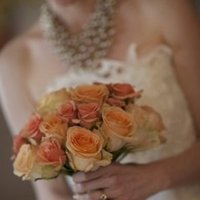 Flowers & Decor, Real Weddings, Wedding Style, orange, Bride Bouquets, Fall Weddings, Rustic Real Weddings, West Coast Real Weddings, Fall Real Weddings, Rustic Weddings, Fall Wedding Flowers & Decor, Roses, Farm Real Weddings, farm weddings