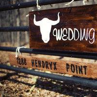 Flowers & Decor, Real Weddings, Wedding Style, brown, Fall Weddings, Rustic Real Weddings, Southern Real Weddings, Fall Real Weddings, Rustic Weddings, Rustic Wedding Flowers & Decor, Wedding signs