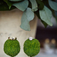 Flowers & Decor, Jewelry, Real Weddings, Wedding Style, green, Women's Rings, White Gold, Engagement Rings, Wedding Bands, Centerpieces, Fall Weddings, Rustic Real Weddings, Southern Real Weddings, Fall Real Weddings, Rustic Weddings, Rustic Wedding Flowers & Decor