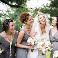 Real Weddings, Rustic Real Weddings, Spring Weddings, Spring Real Weddings, Rustic Weddings, Bridal party, Wisconsin Real Weddings, Wisconsin Wedding, grey bridesmaids dresses