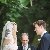 Ceremony, Real Weddings, Rustic Real Weddings, Spring Weddings, Spring Real Weddings, Rustic Weddings, Lace veil, Wisconsin Real Weddings, Wisconsin Wedding