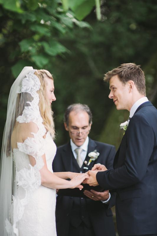 Ceremony, Real Weddings, Rustic Real Weddings, Spring Weddings, Spring Real Weddings, Rustic Weddings, Lace veil, Wisconsin Real Weddings, Wisconsin Wedding