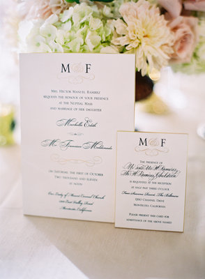 Stationery, Real Weddings, Wedding Style, white, Classic Wedding Invitations, Glam Wedding Invitations, Invitations, Summer Weddings, West Coast Real Weddings, Classic Real Weddings, Glam Real Weddings, Summer Real Weddings, Classic Weddings, Glam Weddings