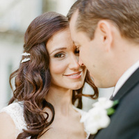 Beauty, Real Weddings, Hair, Wavy, Elegant, Glamorous, Old hollywood, Jessica Lorren Organic Photography