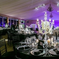 Flowers & Decor, Real Weddings, Wedding Style, Centerpieces, Tables & Seating, Fall Weddings, Fall Real Weddings, Glam Real Weddings, Glam Weddings, Glam Wedding Flowers & Decor, mid-atlantic real weddings