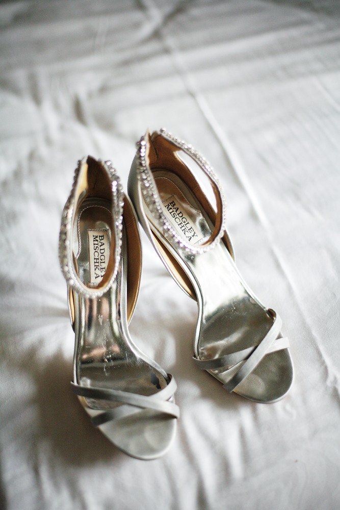 Shoes, Real Weddings, ivory, Elegant, Chic, Badgley mischka, Sophisticated, Ankle strap, Northeast weddings