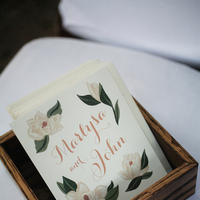 Ceremony, Stationery, Real Weddings, ivory, Programs, Elegant, Chic, Sophisticated, Northeast weddings