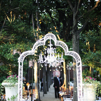 Ceremony, Real Weddings, ivory, Arch, Elegant, Chandelier, Chic, Sophisticated, Northeast weddings