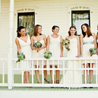 Bridesmaids Dresses, Bridesmaid Bouquets, Southern Real Weddings
