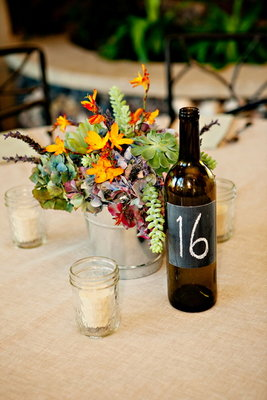 Flowers & Decor, Stationery, Real Weddings, Wedding Style, Centerpieces, Table Numbers, Beach Real Weddings, Rustic Real Weddings, Southern Real Weddings, Rustic Weddings, Southern weddings