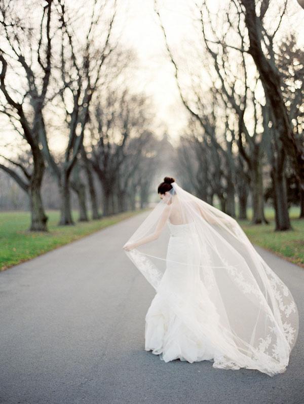 Veils, Real Weddings, Wedding Style, white, Winter Weddings, Classic Real Weddings, Midwest Real Weddings, Winter Real Weddings, Classic Weddings
