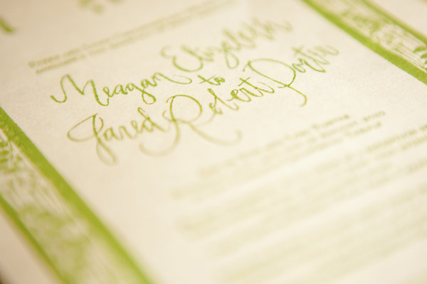 Stationery, Real Weddings, Wedding Style, green, Garden Wedding Invitations, Invitations, Spring Weddings, West Coast Real Weddings, Garden Real Weddings, Spring Real Weddings, Vintage Real Weddings, Garden Weddings, Vintage Weddings
