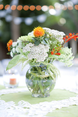 Flowers & Decor, Real Weddings, Wedding Style, green, Centerpieces, Spring Weddings, West Coast Real Weddings, Garden Real Weddings, Spring Real Weddings, Vintage Real Weddings, Garden Weddings, Vintage Weddings, Garden Wedding Flowers & Decor, Spring Wedding Flowers & Decor