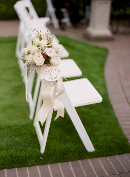 Flowers & Decor, Real Weddings, Wedding Style, ivory, green, Ceremony Flowers, Aisle Decor, Beach Real Weddings, Summer Weddings, West Coast Real Weddings, Summer Real Weddings, Beach Weddings, Beach Wedding Flowers & Decor, Summer Wedding Flowers & Decor, Nautical Weddings, Nautical Real Weddings