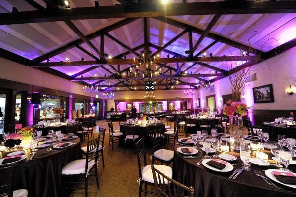Real Weddings, Wedding Style, pink, purple, black, Lighting, Tables & Seating, Fall Weddings, Modern Real Weddings, West Coast Real Weddings, Classic Real Weddings, Fall Real Weddings, Classic Weddings, Modern Weddings