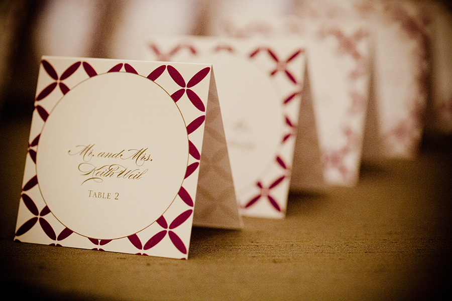 Stationery, Real Weddings, purple, Escort Cards, Classic Real Weddings, Fall Real Weddings, Midwest Real Weddings, City Weddings, Violet, Midwest Weddings, City Real Wedding, Autumn Real Weddings, Chicago Real Weddings, Chicago Weddings