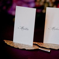 Stationery, Real Weddings, Escort Cards, Classic Real Weddings, Fall Real Weddings, Midwest Real Weddings, Midwest Weddings, City Real Wedding, Autumn Real Weddings, Chicago Real Weddings, Chicago Weddings, City Wedding