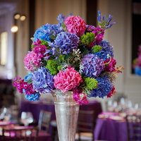 Reception, Flowers & Decor, Real Weddings, pink, purple, blue, Centerpieces, Classic Real Weddings, Fall Real Weddings, Midwest Real Weddings, City Weddings, Classic Wedding Flowers & Decor, Midwest Weddings, City Real Wedding, Autumn Real Weddings, Chicago Real Weddings, Chicago Weddings