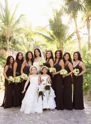 Real Weddings, brown, Beach Real Weddings, Beach Weddings