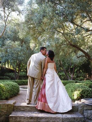 Wedding Dresses, Fashion, Real Weddings, Wedding Style, ivory, pink, Summer Weddings, West Coast Real Weddings, Summer Real Weddings