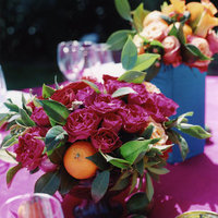 Flowers & Decor, Real Weddings, Wedding Style, pink, Centerpieces, Summer Weddings, West Coast Real Weddings, Summer Real Weddings, Summer Flowers & Decor