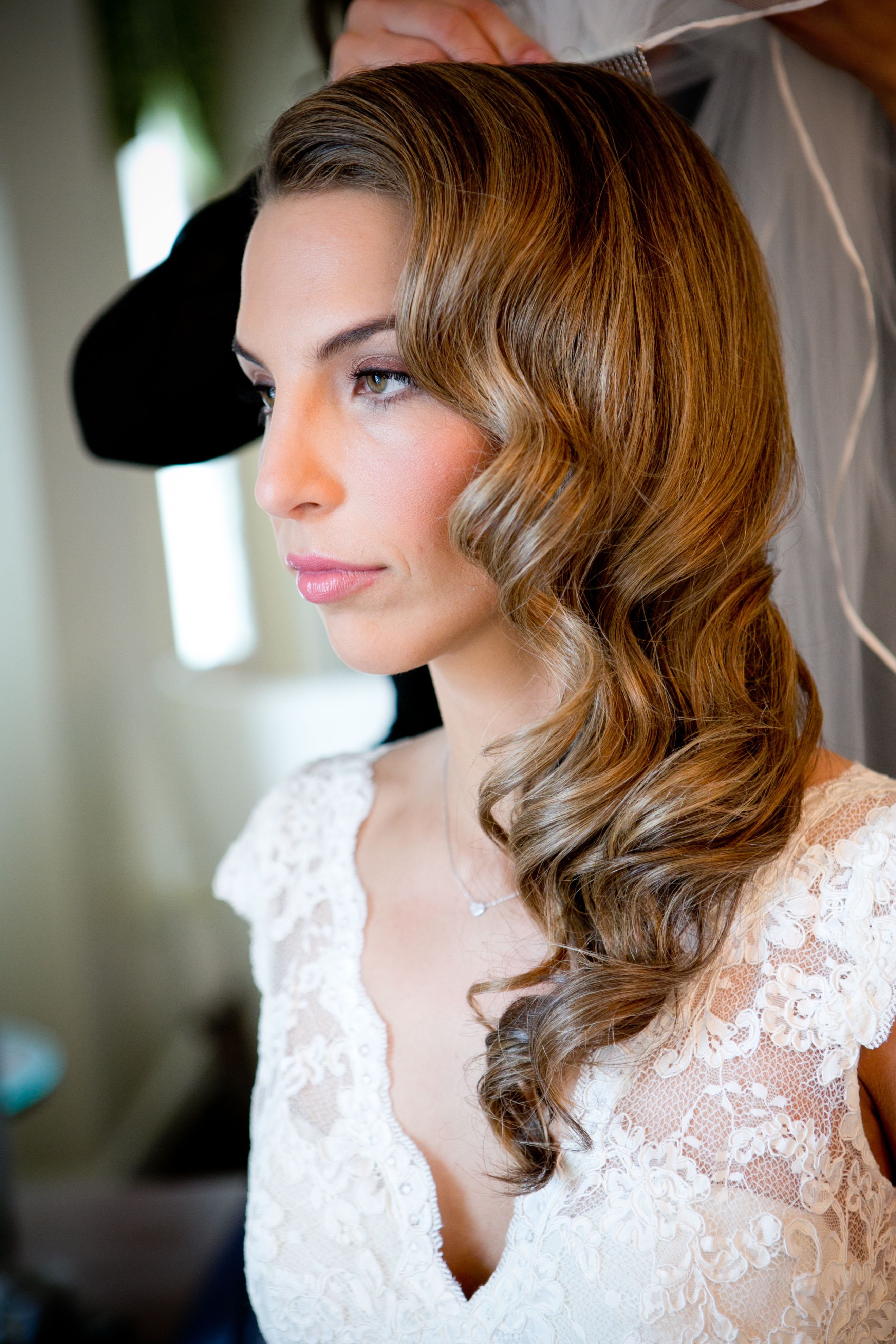 Beauty, Real Weddings, Wedding Style, Makeup, Down, Wavy Hair, Spring Weddings, City Real Weddings, Classic Real Weddings, Midwest Real Weddings, Spring Real Weddings, City Weddings