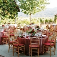 Reception, Flowers & Decor, Real Weddings, red, Tables & Seating, West Coast Real Weddings, Classic Real Weddings, Vineyard Real Weddings, Classic Weddings