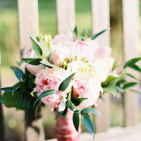 Flowers & Decor, Real Weddings, Wedding Style, pink, green, Bride Bouquets, Spring Weddings, Garden Real Weddings, Spring Real Weddings, Garden Weddings, Spring Wedding Flowers & Decor