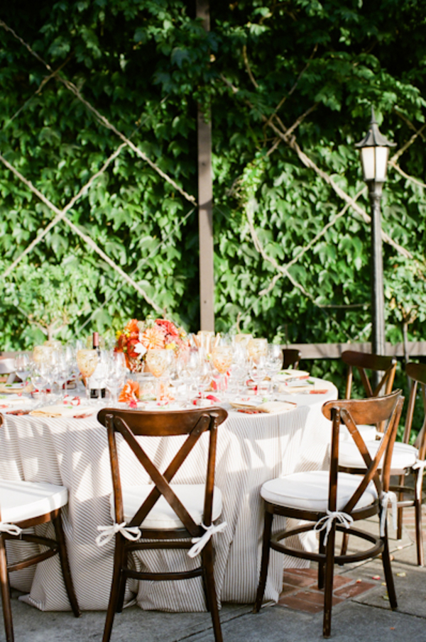 Flowers & Decor, Real Weddings, Wedding Style, orange, brown, Tables & Seating, Fall Weddings, West Coast Real Weddings, Fall Real Weddings, Vineyard Real Weddings, Vineyard Weddings, Fall Wedding Flowers & Decor, Rustic Wedding Flowers & Decor, Vineyard Wedding Flowers & Decor