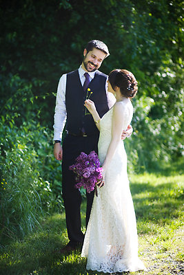 Fashion, Real Weddings, Wedding Style, purple, Men's Formal Wear, Rustic Real Weddings, Spring Weddings, Spring Real Weddings, Rustic Weddings, mid-atlantic real weddings