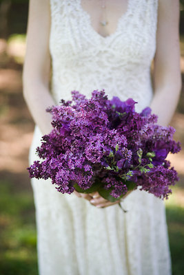 Flowers & Decor, Real Weddings, Wedding Style, purple, Bride Bouquets, Rustic Real Weddings, Spring Weddings, Spring Real Weddings, Rustic Weddings, Rustic Wedding Flowers & Decor, mid-atlantic real weddings