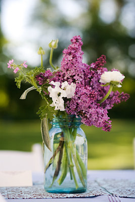 Flowers & Decor, Real Weddings, Wedding Style, purple, Rustic Real Weddings, Spring Weddings, Spring Real Weddings, Rustic Weddings, Rustic Wedding Flowers & Decor, Spring Wedding Flowers & Decor, mid-atlantic real weddings