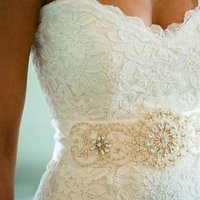 Sweetheart Wedding Dresses, Lace Wedding Dresses, Traditional Wedding Dresses, Fashion, Real Weddings, white, Accessories, Rustic Real Weddings, Southern Real Weddings, Spring Weddings, Rustic Weddings