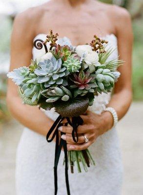 Flowers & Decor, Real Weddings, Wedding Style, blue, green, Bride Bouquets, Rustic Real Weddings, Southern Real Weddings, Spring Weddings, Rustic Weddings, Rustic Wedding Flowers & Decor