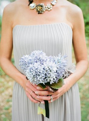 Flowers & Decor, Real Weddings, Wedding Style, blue, Bridesmaid Bouquets, Rustic Real Weddings, Southern Real Weddings, Spring Weddings, Rustic Weddings