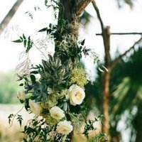 Flowers & Decor, Real Weddings, Wedding Style, green, Ceremony Flowers, Aisle Decor, Rustic Real Weddings, Southern Real Weddings, Spring Weddings, Rustic Weddings, Rustic Wedding Flowers & Decor