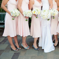 Flowers & Decor, Bridesmaid Dresses, Real Weddings, Wedding Style, pink, Bridesmaid Bouquets, West Coast Real Weddings, Classic Real Weddings, Classic Weddings