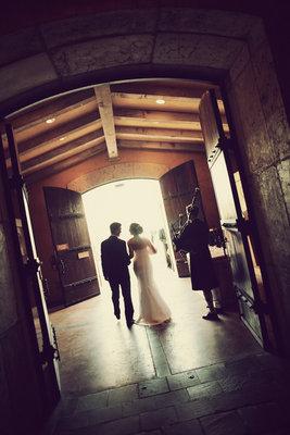 white, black, West Coast Real Weddings, Vineyard Weddings
