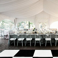 Flowers & Decor, Real Weddings, Wedding Style, white, black, Tables & Seating, West Coast Real Weddings, Classic Real Weddings, Classic Weddings, West Coast Weddings
